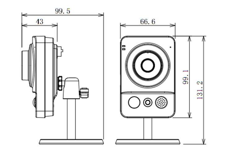 DH-IPC-KW10-12Dimensions