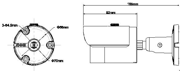 HFw2120s dimension