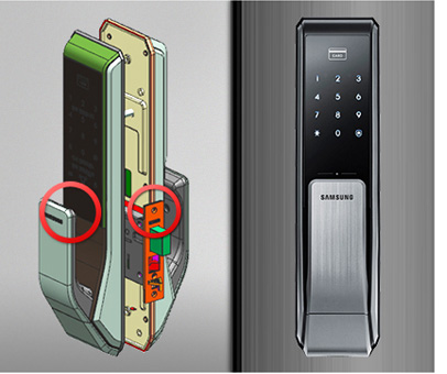 Samsung-SHS-P717-securing