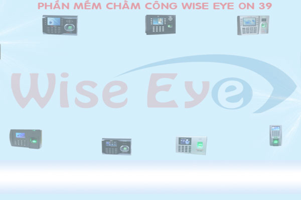 giao diện phần mềm wise eye on 39