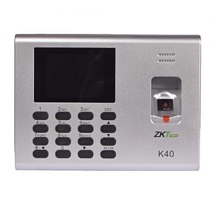 Máy chấm công tích hợp kiểm soát cửa Zkteco K40